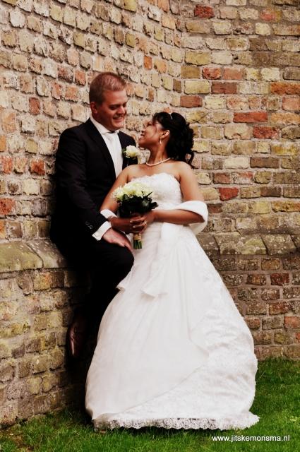 Huwelijk Pieter en Mell